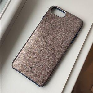 Kate Spade multi glitter I phone 8 Plus Case
